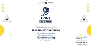 Goodvertising Certificate (landscape)